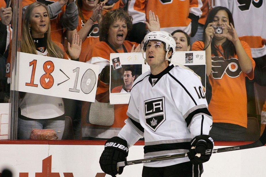 Richards était le capitaine des Flyers et avait... (Photo: AP)