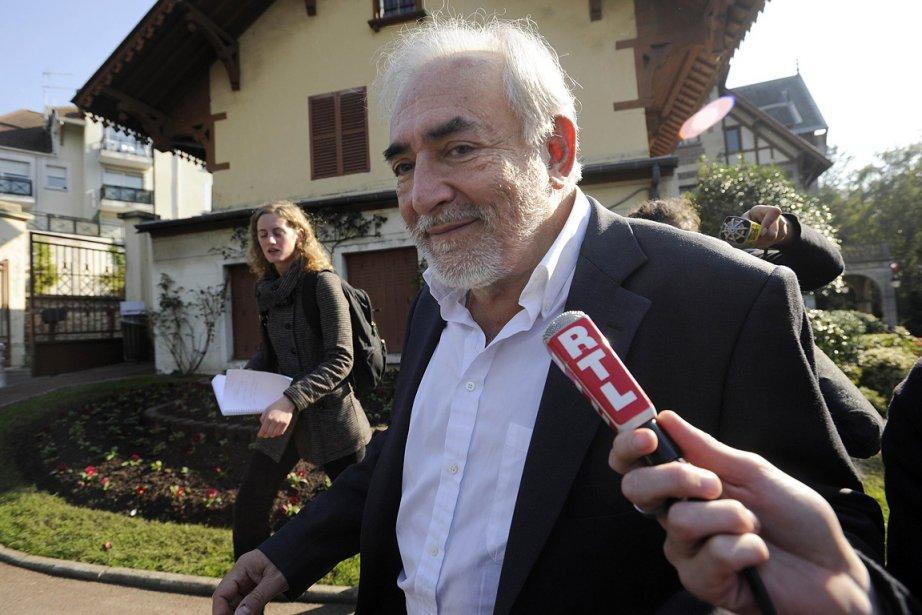 L'ex-patron du FMI, Dominique Strauss-Kahn.... (Photo: AFP)