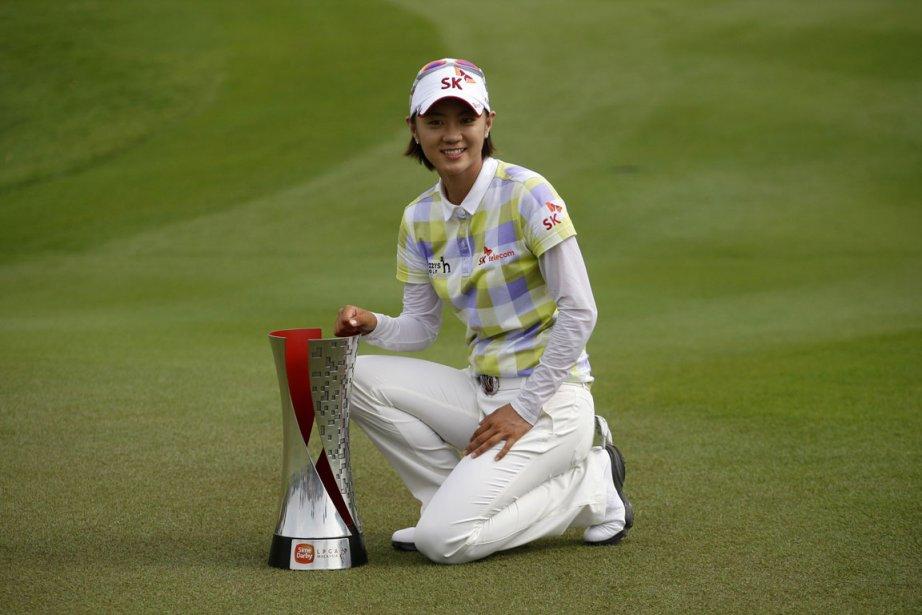 Choi est la deuxième Sud-Coréenne à remporter un... (Photo: AP)