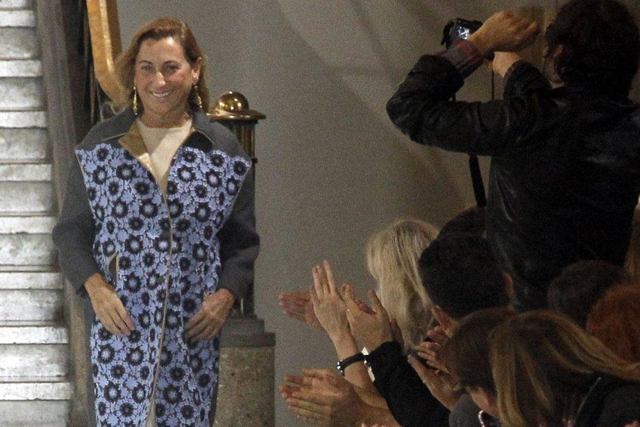 La designer Miuccia Prada... (Photo: AFP)