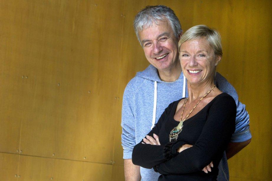 Les acteurs Carl Béchard et Danièle Panneton ont... (Photo: Robert Skinner, La Presse)