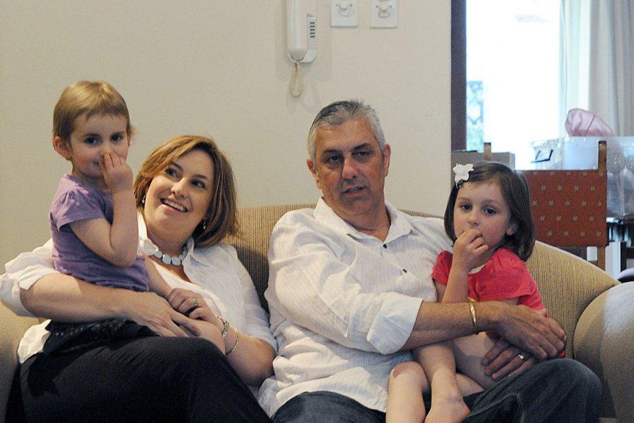 La famille Short: Julie, Wallis et leurs filles,... (Photo: AFP)