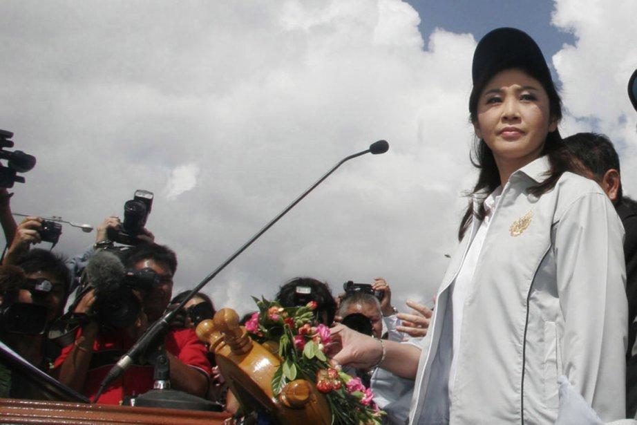 La première ministre thaïlandaise Yingluck Shinawatra.... (Photo: AP)