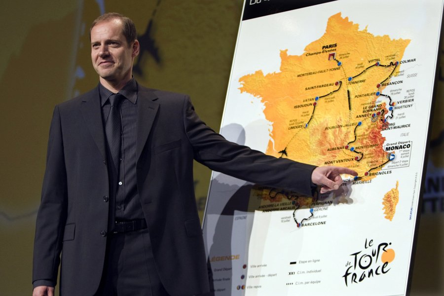 La carte officielle du Tour de France 2012... (Photo: archives Reuters)