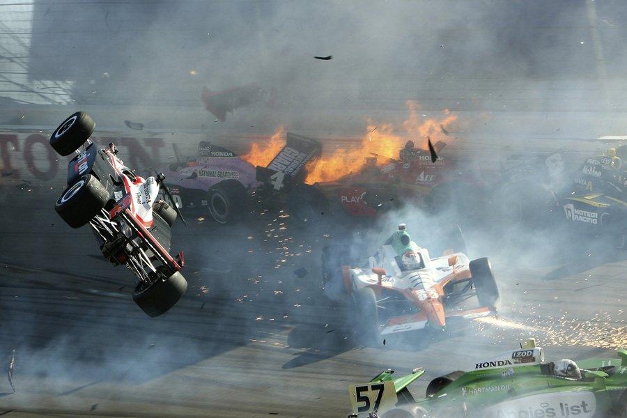 Le pilote britannique Dan  Wheldon a perdu... (Photo: Reuters)