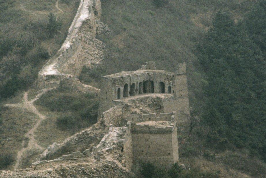 Une partie non restaurée de la muraille de... (Photos.com)