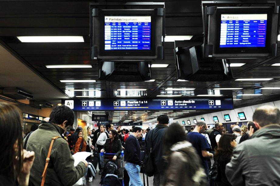 L'aéroport de Buenos Aires... (Photo: AFP)