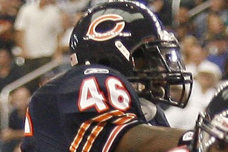 Le demi de sûreté Chris Harris, des Bears... (Photo: Reuters)