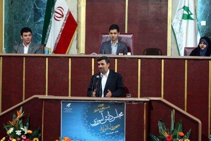 Mahmoud Ahmadinejad a rejeté une nouvelle fois les... (Photo: AFP)