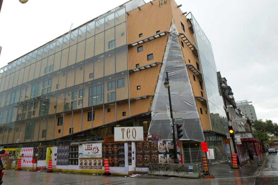 CIBL aura ses locaux dans l'édifice du 2-22... (Photo Alain Roberge, La Presse)