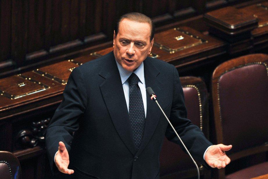Le controversé premier ministre italien Silvio Berlusconi.... (Photo: Andreas Solaro, AFP)