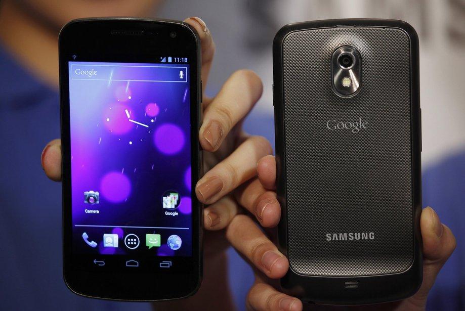 Le Galaxy Nexus de Samsung intègre le système... (Photo: Reuters)