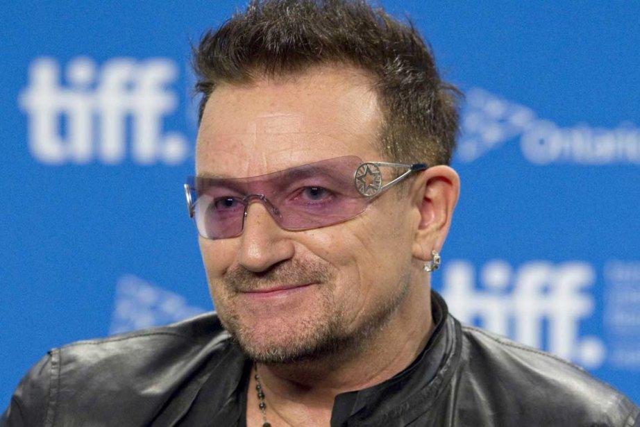 Bono... (Photo La Presse Canadienne)