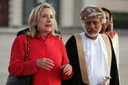 Hillary Clinton se trouvait plus tôt mercredi en... (Photo: AFP)