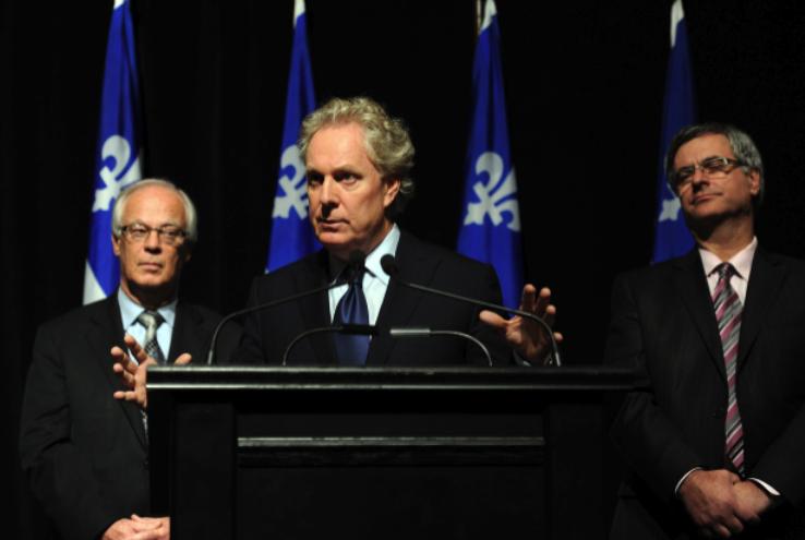 Le premier ministre Jean  Charest a annoncé,... (Le Soleil, Erick Labbé)
