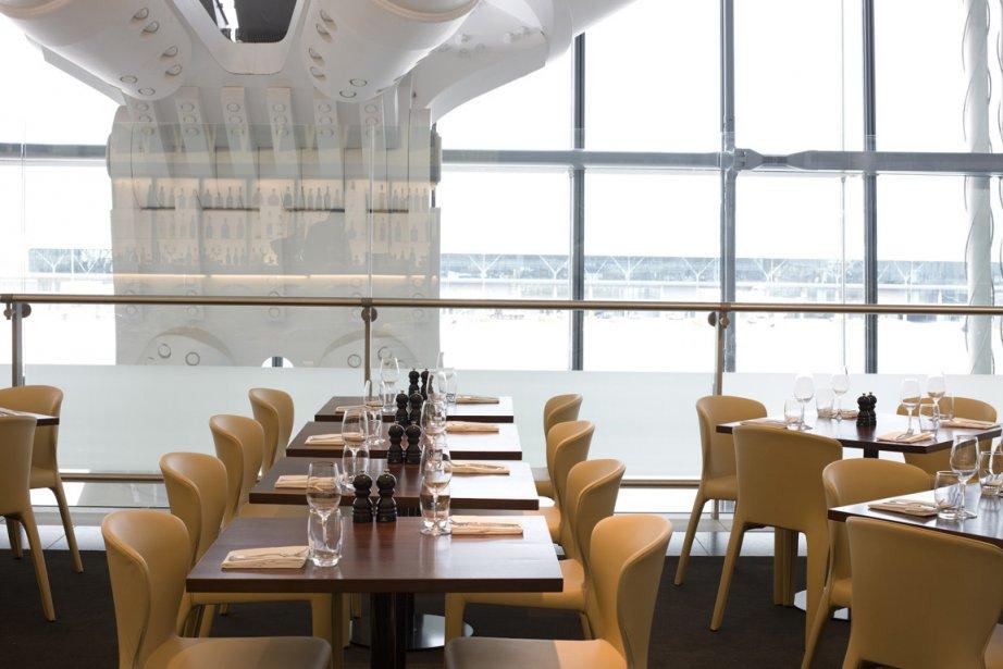 Le restaurant du chef Gordon Ramsay à l'aéroport... (Photo: fournie par l'aéroport Heathrow de Londres)