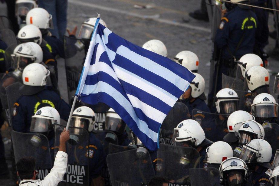 Lesauvetagede la Grèce se fera dans la douleur... (Photo Yannis Behrakis, Reuters)