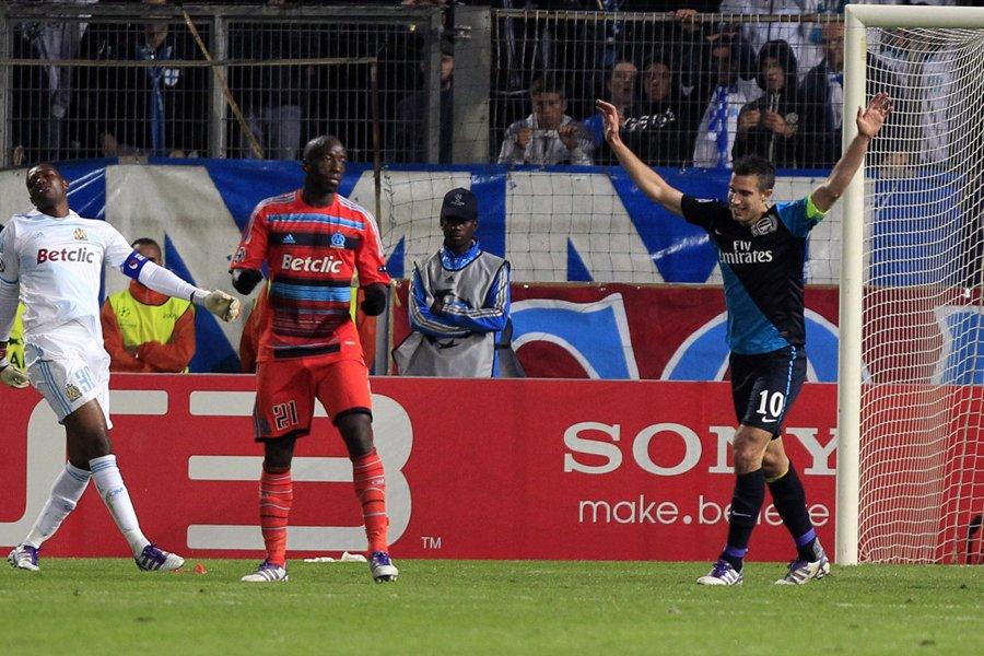 Arsenal a battu l'Olympique de Marseille 1-0 en... (Photo: Reuters)