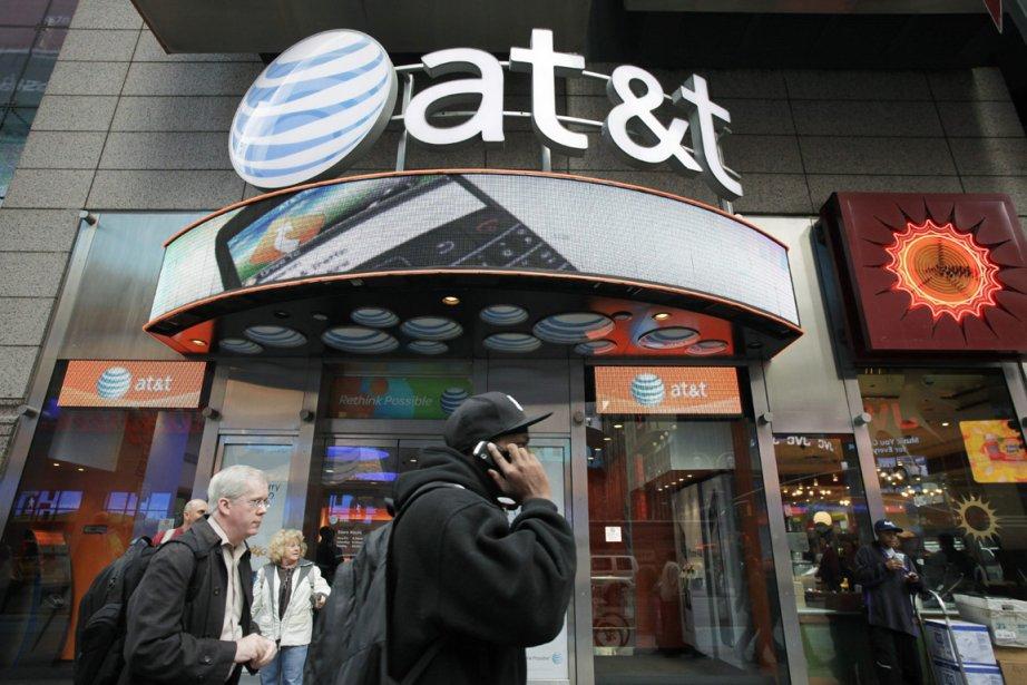 Un magasin AT&T de New York.... (Photo: AP)
