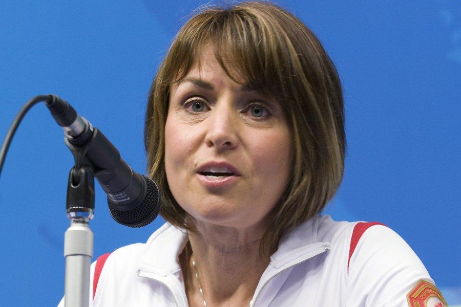 Sylvie Bernier a agi en tant que chef... (Photo: PC)
