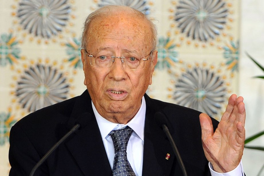 Le premier ministre tunisien, Béji Caïd Essebsi.... (Photo: Fethi Belaid, AFP)