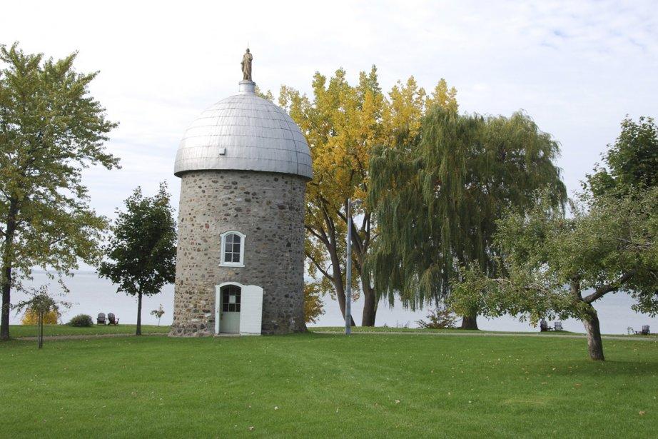 Ancienne propriété des Soeurs grises, l'île Saint-Bernard abrite... (Photo: Simon Diotte, collaboration spéciale)