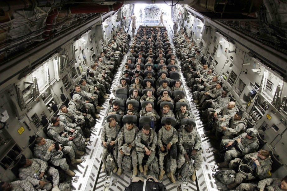 Les soldats de la 1re Brigade de la... (Photo: Maya Alleruzzo, Archives AP)