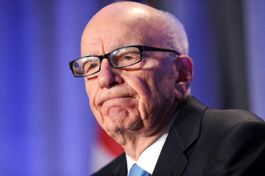 Rupert  Murdoch, le PDG du groupe demédias... (Photo: Noah Berger, AP)