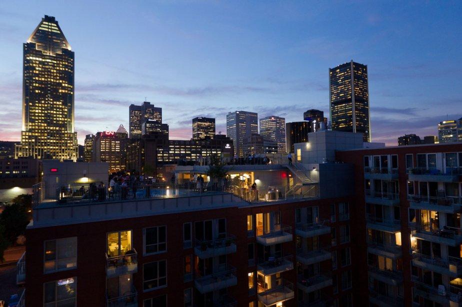 Depuis 10 ans, la part du résidentiel dans... (Photo: Édouard Plante-Fréchette, La Presse)