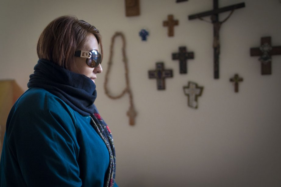 Mexicaine Paola Ortiz se cache dans la région... (Photo: André Pichette, La Presse)