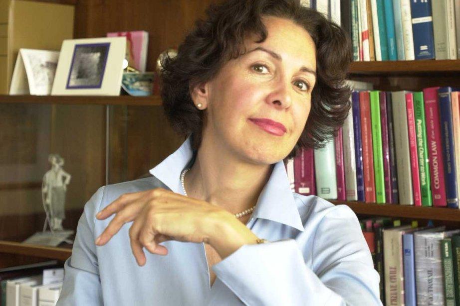 Louise Otis, ex-juge à la Cour d'appel, en... (Photo Alain Roberge, La Presse)