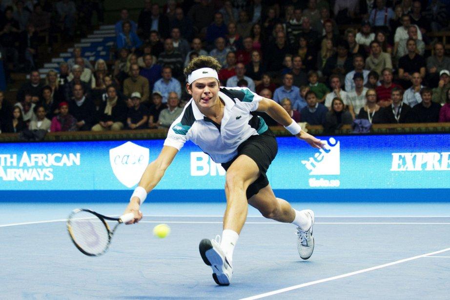 Milos Raonic tentait d'atteindre une troisième finale cette... (Photo: Jonathan Nackstrand, AFP)