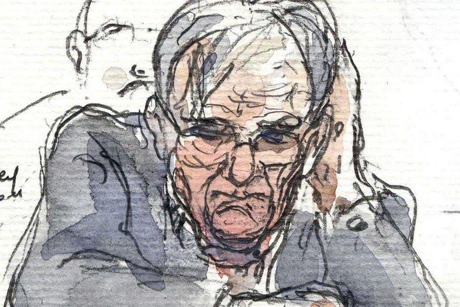 Dieter Krombach n'a pas manifesté de réaction particulière... (Photo: Benoit Peyrucq, AFP)