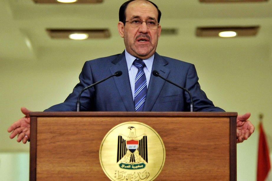 Le premier ministre irakien Nouri al-Maliki.... (Photo: AFP)