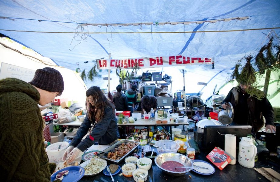 La «cuisine du peuple». (Photo: Marco Campanozzi)