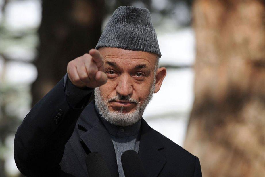 Hamid Karzaï... (Photo: AFP)