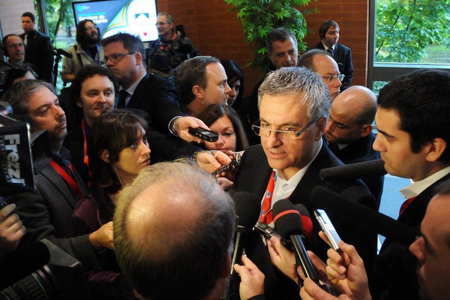 Le ministre de la Justice, Jean-Marc Fournier, lors... (Photo: Martin Martel, Le Soleil)