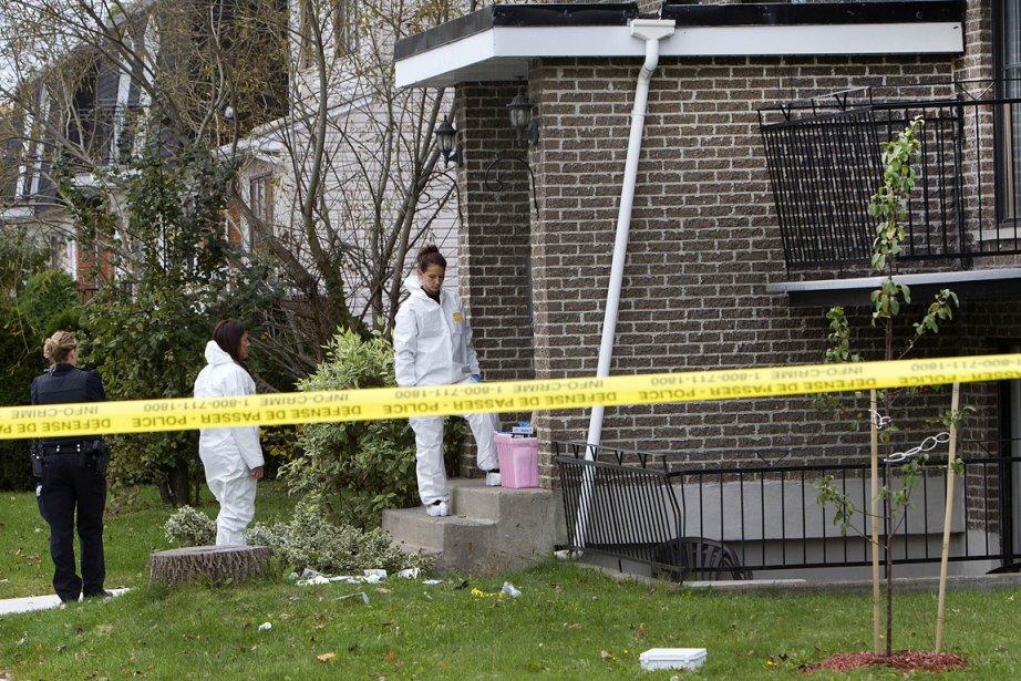 Un homme a été assassiné dans la nuit... (Photo: Robert Skinner, La Presse)