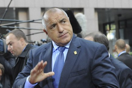 Boïko Borissov... (Photo: AP)