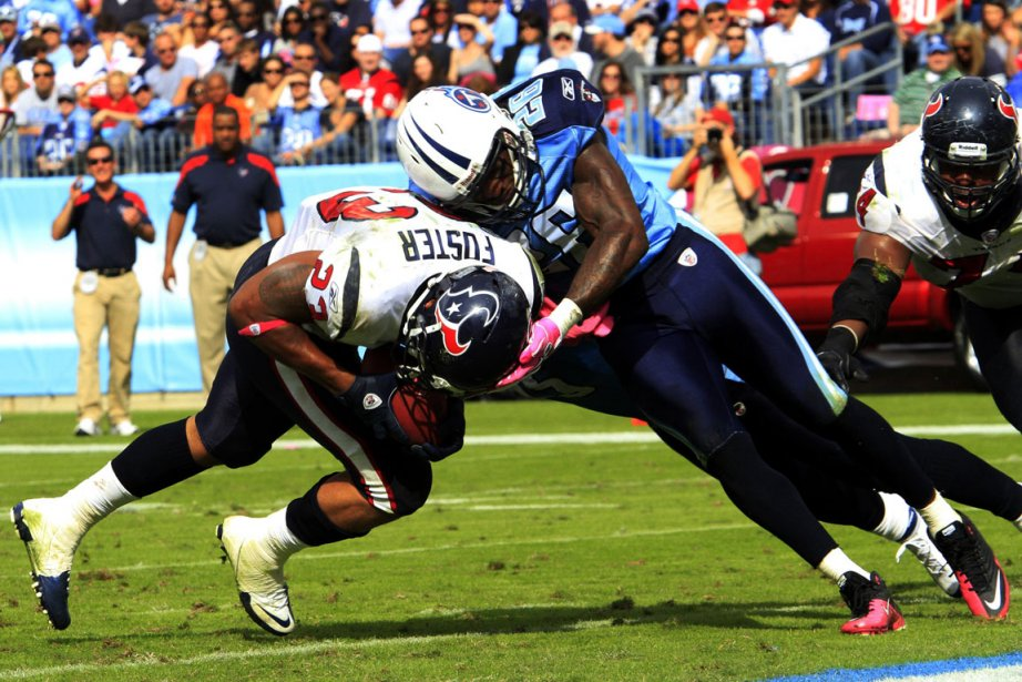 Arian Foster... (Photo: Reuters)