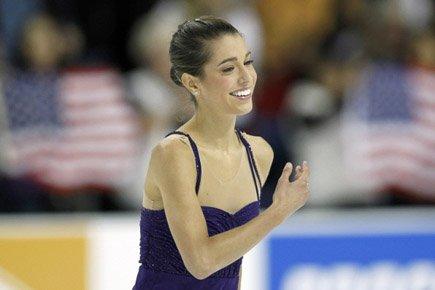 L'Américaine Alissa Czisny a remporté dimanche à Ontario, en... (Photo: Reuters)