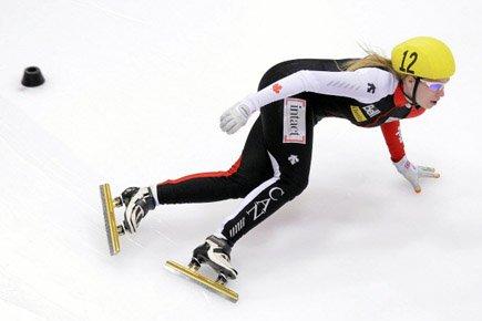 La Québécoise Marianne St-Gelais a facilement triomphé lors de la... (Photo: AP)