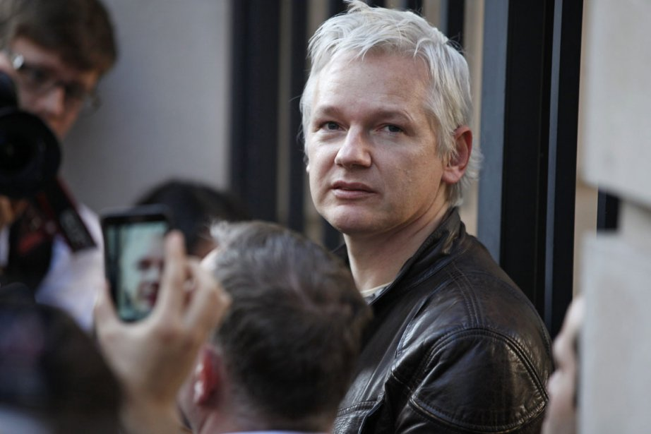 Le fondateur de WikiLeaks, Julian Assange.... (Photo: AP)
