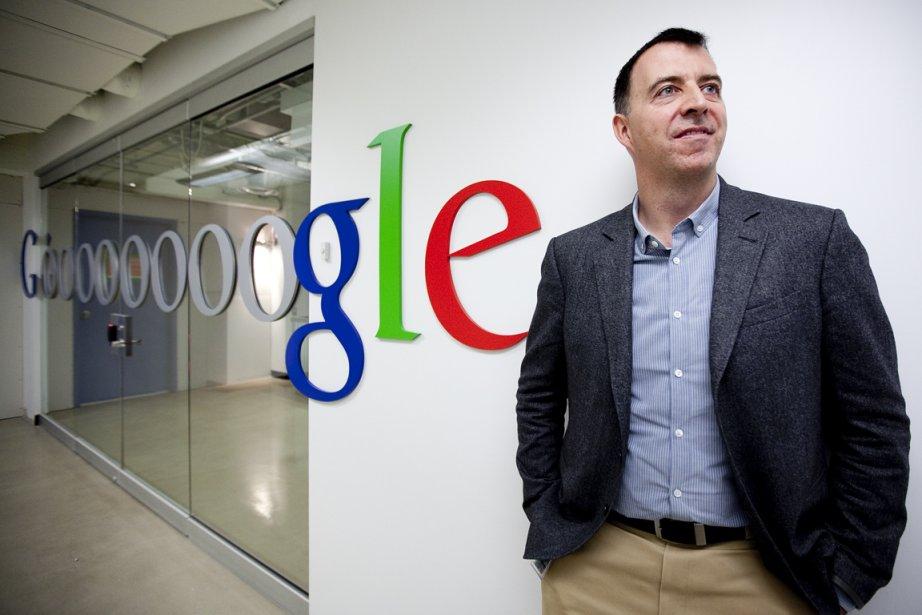 Le nouveau patron deGoogleQuébec, Nicolas Darveau-Garneau, dans les... (Photo Marco Campanozzi, La Presse)