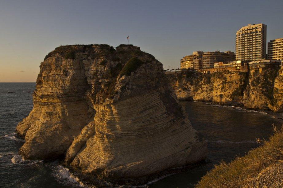 La grotte aux Pigeons... (Photo: Simon Coutu, collaboration spéciale)