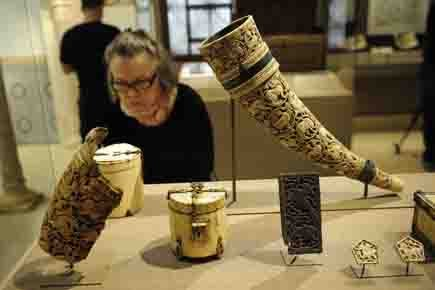Les objets exposés ont été sélectionnés parmi les... (Photo: AFP)
