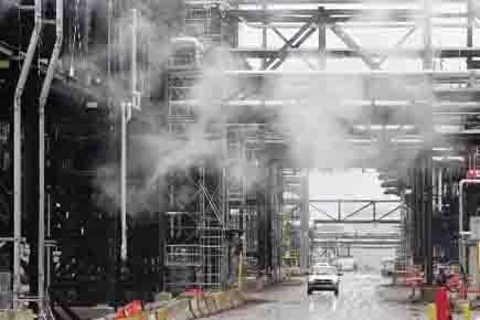 L'oléoduc Keystone XL devrait traverser la frontière canado-américaine... (Photo: Reuters)