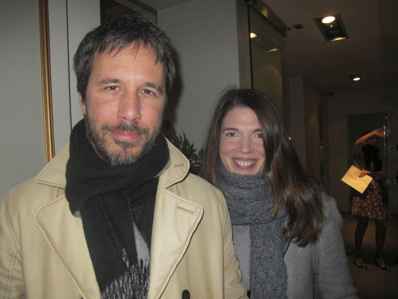 Le réalisateur Denis Villeneuve et sa conjointe Macha Grenon. | 27 juillet 2012