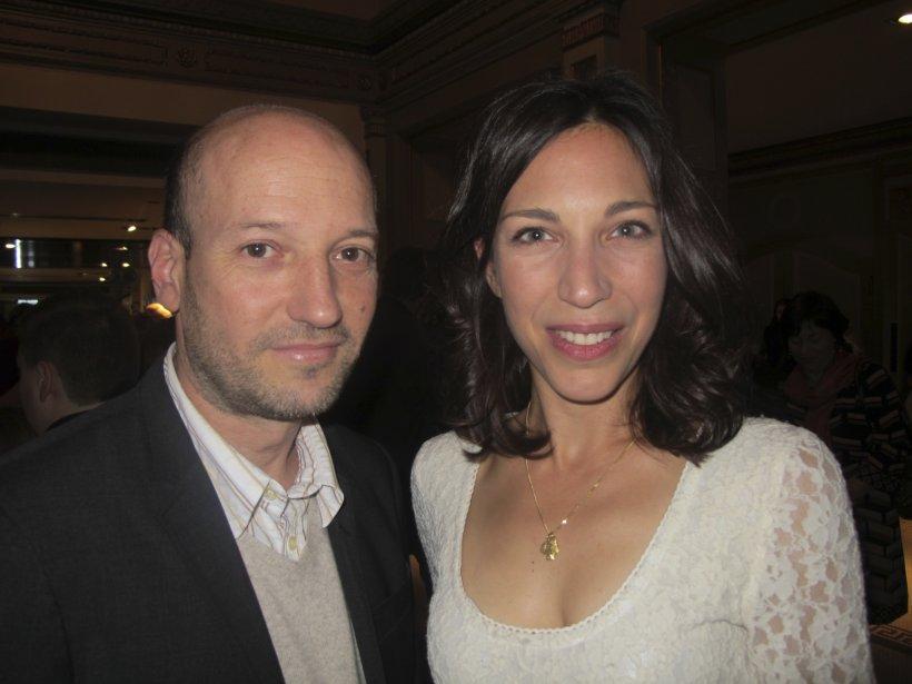 Luc Déry, producteur de micro_scope, accompagné d'Evelyne de la Chenelière. | 27 juillet 2012