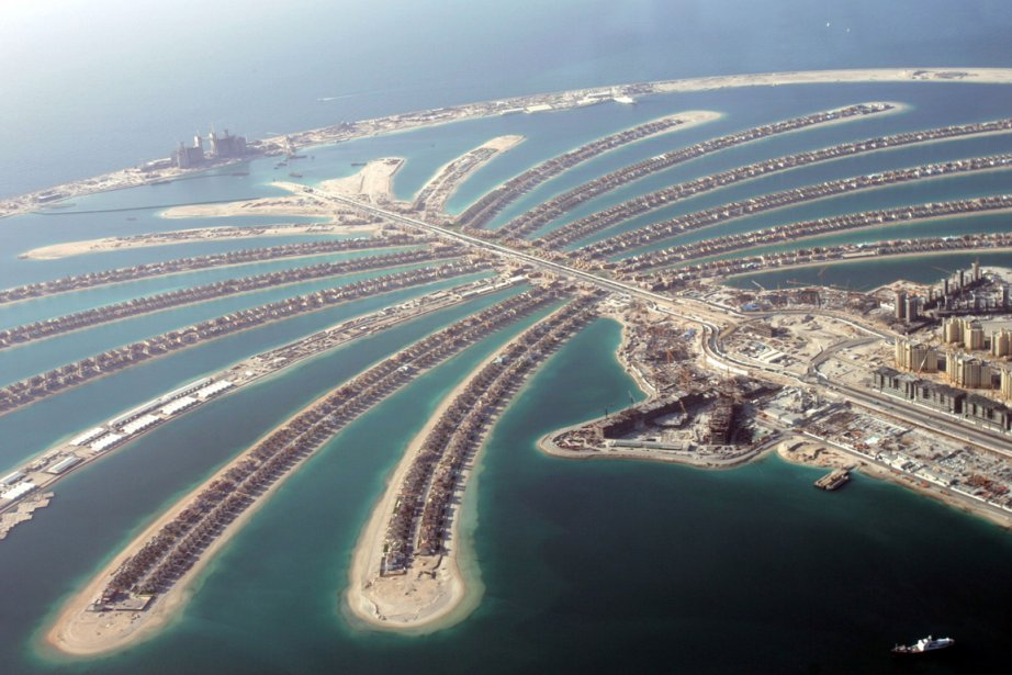 Palm Jumeirah Island... (Photo: archives AP)